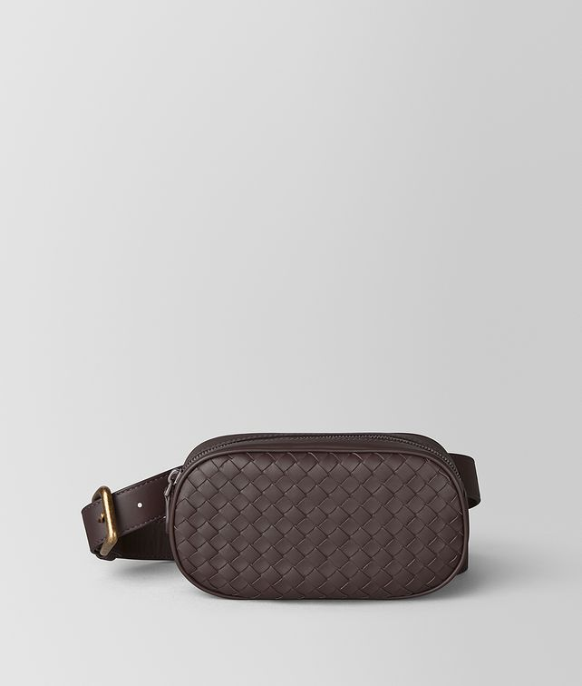BOTTEGA VENETA BELT BAG IN INTRECCIATO NAPPA Crossbody and Belt Bags Woman fp