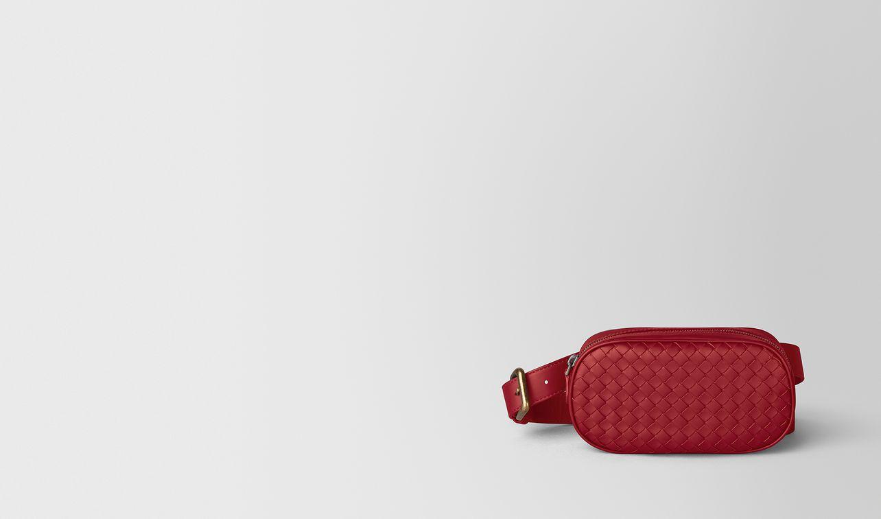 belt bag in intrecciato nappa  landing