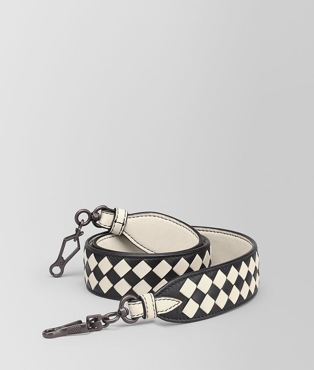 BOTTEGA VENETA STRAP IN INTRECCIATO CHEQUER Shoulder Strap [*** pickupInStoreShipping_info ***] fp