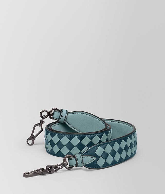 BOTTEGA VENETA STRAP IN INTRECCIATO CHECKER Shoulder Strap [*** pickupInStoreShipping_info ***] fp