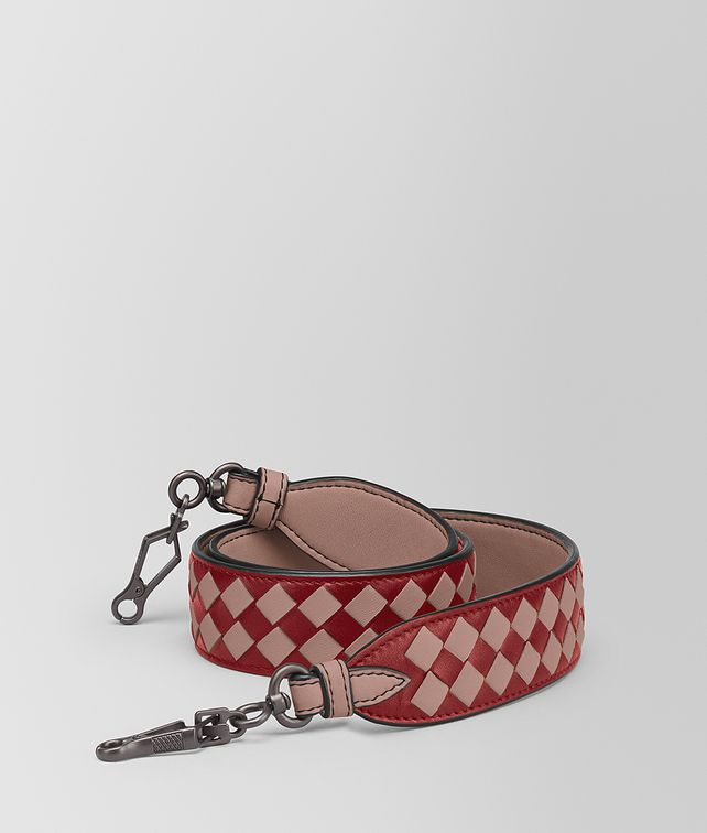 BOTTEGA VENETA STRAP IN INTRECCIATO CHEQUER Other Accessories Woman fp
