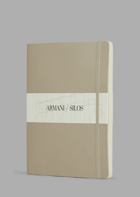 Large notebook with dot-grid pages and hard cover