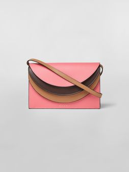 Marni Calfskin wallet with triple flap Woman