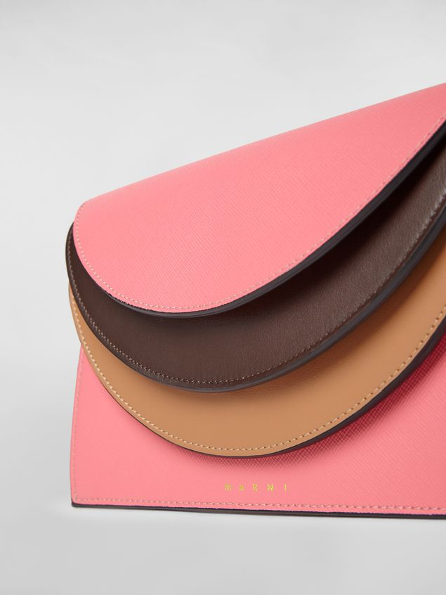 Marni Calfskin wallet with triple flap Woman - 4