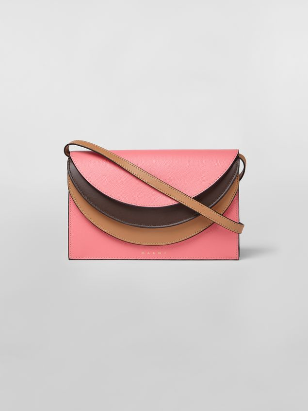 Marni Calfskin wallet with triple flap Woman - 1