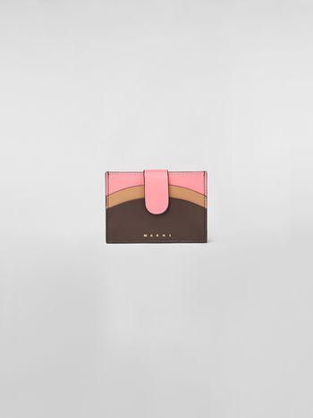 Marni Credit card case in leather Woman