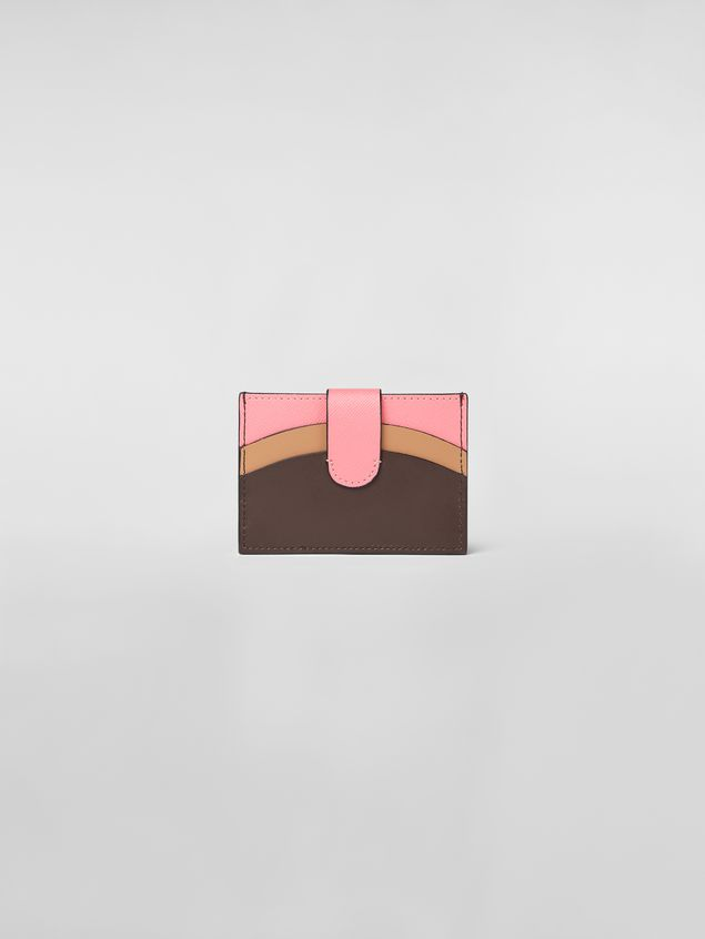 Marni Credit card case in leather Woman - 3