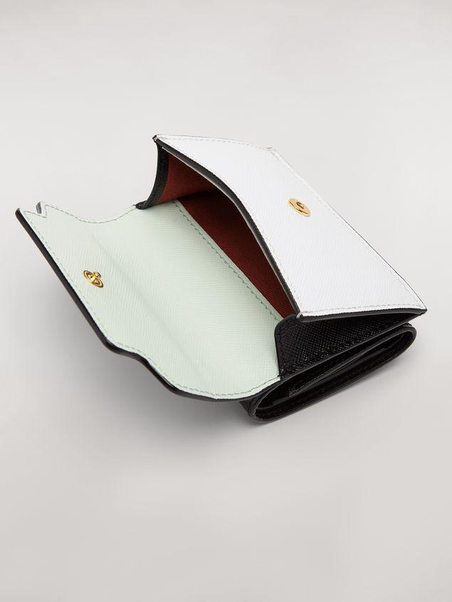 Marni Tri-fold wallet in saffiano leather Woman - 4