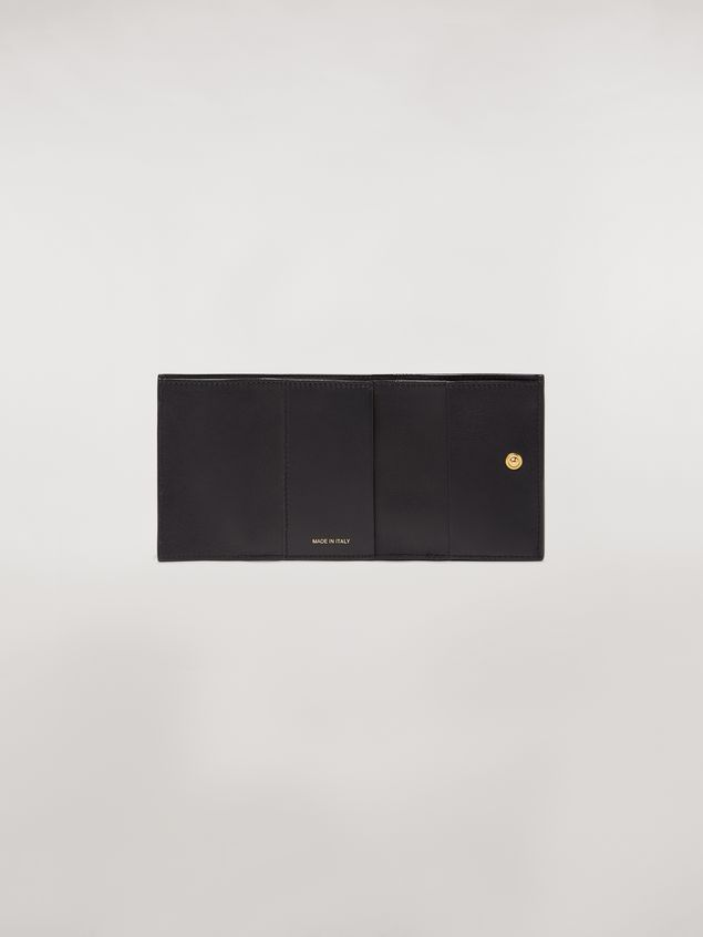 Marni Tri-fold wallet in saffiano leather Woman - 2