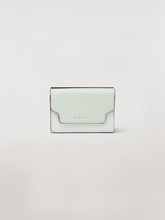 Marni Tri-fold wallet in saffiano leather Woman - 1