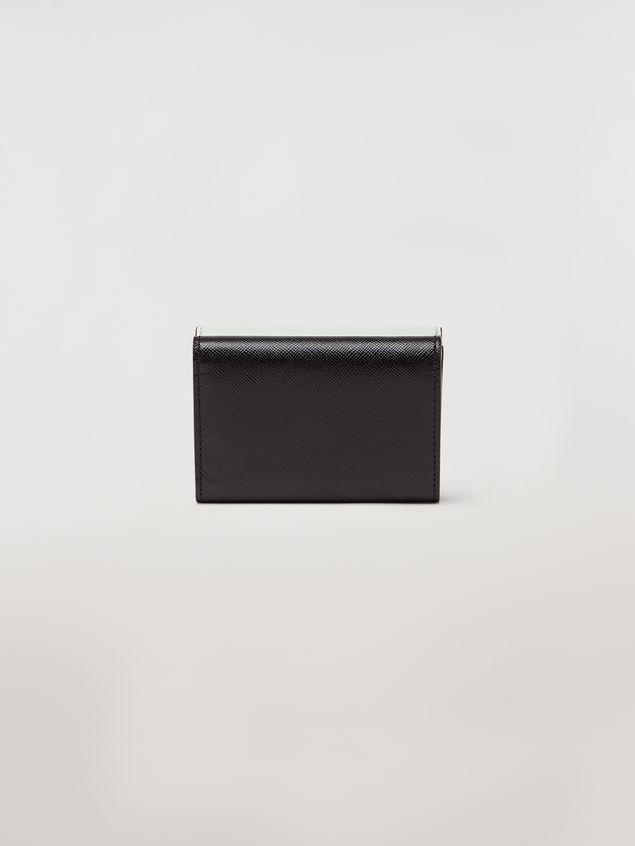 Marni Tri-fold wallet in saffiano leather Woman - 3