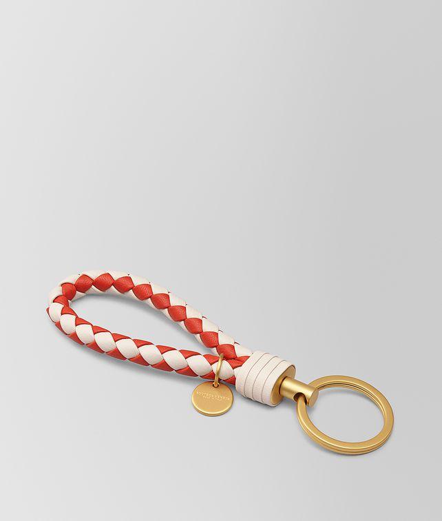 BOTTEGA VENETA KEY RING IN INTRECCIATO NAPPA Other Accessories E fp