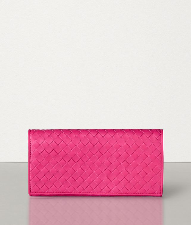 BOTTEGA VENETA CONTINENTAL WALLET IN VELVET CALF INTRECCIATO LEATHER Large Wallet [*** pickupInStoreShipping_info ***] fp