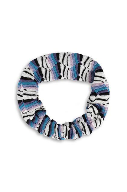 MISSONI KIDS Head band Purple Woman - Back