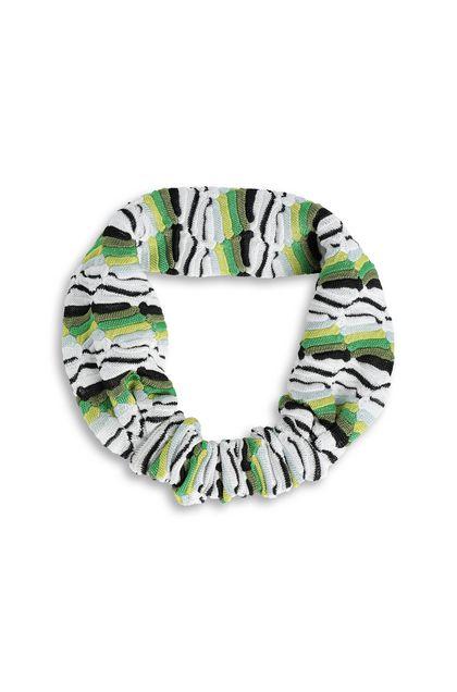 MISSONI KIDS Повязка на голову Зелёный Для Женщин - Обратная сторона
