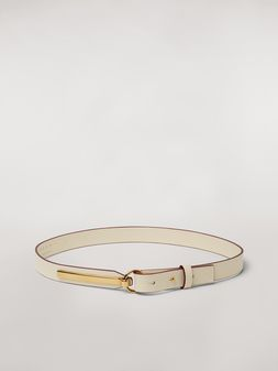 Marni Calfskin belt with brass detail Woman