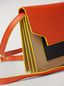 Marni Bellows wallet in orange, black and beige saffiano leather  Woman - 4