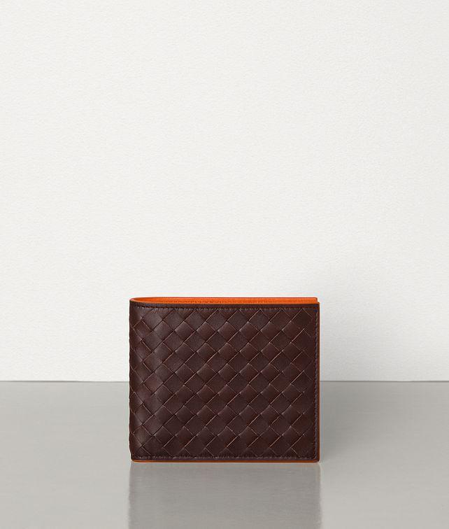BOTTEGA VENETA BI-FOLD WALLET IN INTRECCIATO VN AND NAPPA Bi-fold Wallet Man fp