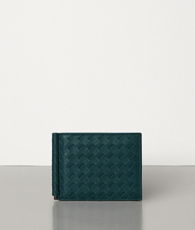 BOTTEGA VENETA BI-FOLD WALLET IN INTRECCIATO VN Small Wallet Man fp