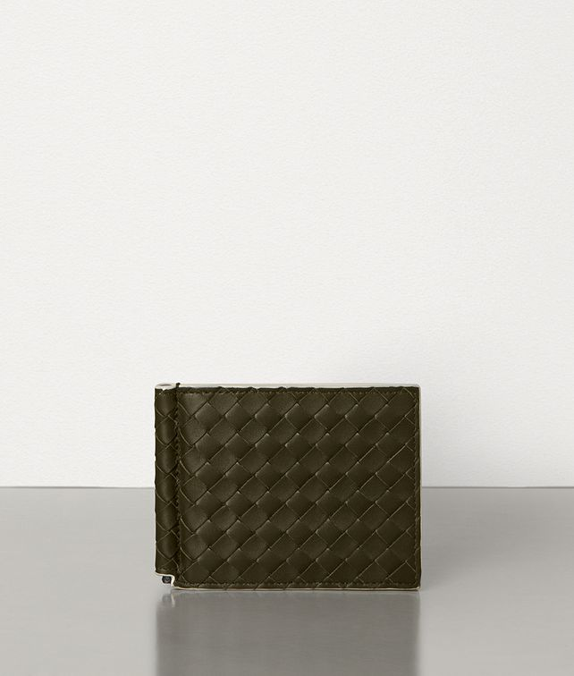 BOTTEGA VENETA BI-FOLD WALLET IN INTRECCIATO VN AND NAPPA Small Wallet Man fp