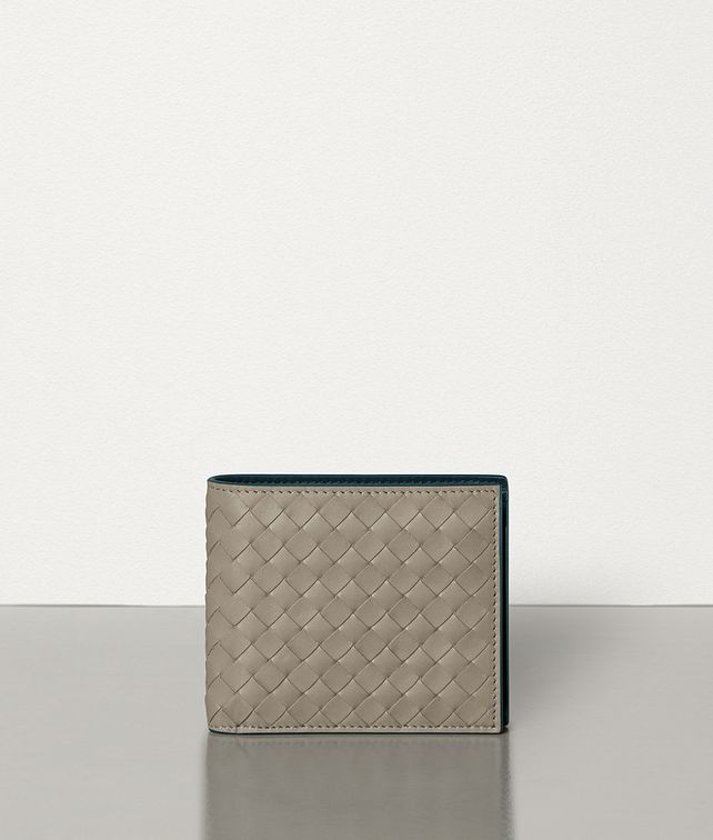 BOTTEGA VENETA BI-FOLD WALLET IN INTRECCIATO VN AND NAPPA Small Wallet [*** pickupInStoreShippingNotGuaranteed_info ***] fp