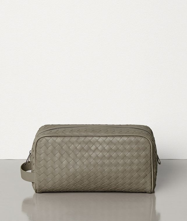 BOTTEGA VENETA MEDIUM TOILETRY CASE IN INTRECCIATO VN Other Accessories Man fp