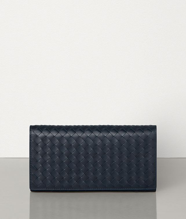 BOTTEGA VENETA CONTINENTAL WALLET IN INTRECCIATO VN AND NAPPA Large Wallet Man fp