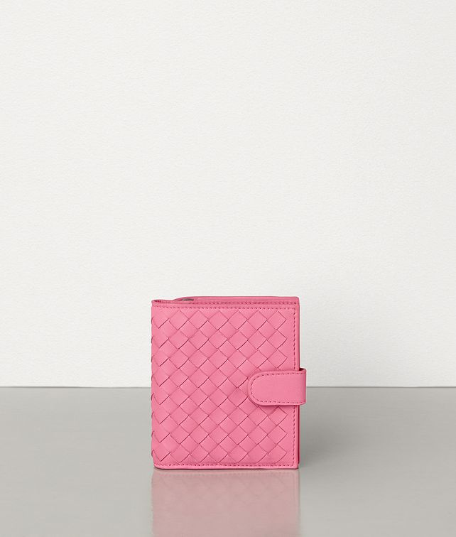 BOTTEGA VENETA MINI WALLET IN INTRECCIATO NAPPA Small Wallet Woman fp