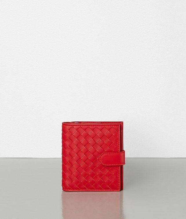 BOTTEGA VENETA MINI WALLET IN INTRECCIATO NAPPA Small Wallet Woman fp