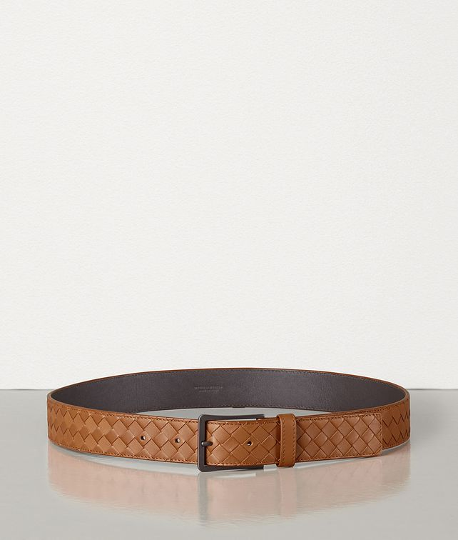 BOTTEGA VENETA BELT IN INTRECCIATO VN Belt Man fp