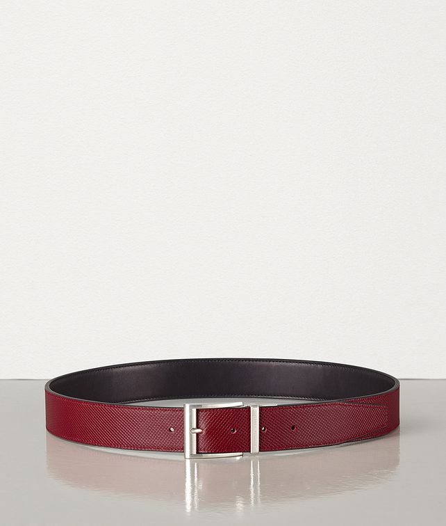 BOTTEGA VENETA REVERSIBILE BELT IN MARCOPOLO CALFSKIN Belt Man fp