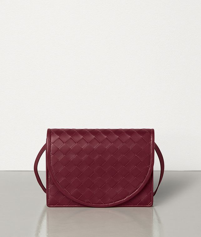 BOTTEGA VENETA MINI CROSSBODY IN INTRECCIATO NAPPA AND CALF Mini Bag and Pouche [*** pickupInStoreShipping_info ***] fp