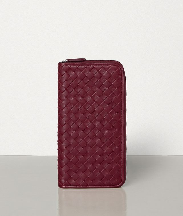BOTTEGA VENETA MEDIUM ZIP-AROUND WALLET IN INTRECCIATO NAPPA Large Wallet [*** pickupInStoreShipping_info ***] fp