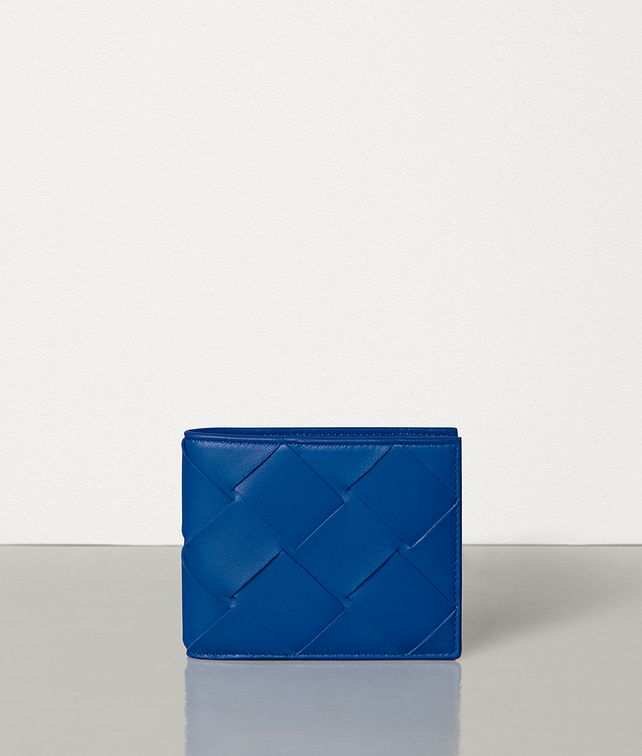 BOTTEGA VENETA BI-FOLD WALLET IN INTRECCIATO NAPPA Small Wallet Man fp