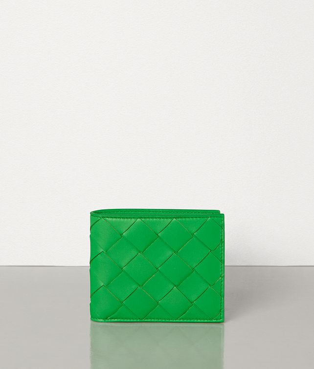 BOTTEGA VENETA BI-FOLD WALLET IN INTRECCIATO NAPPA Small Wallet [*** pickupInStoreShippingNotGuaranteed_info ***] fp