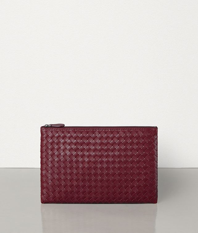 BOTTEGA VENETA MEDIUM BILETTO IN INTRECCIATO NAPPA Pouch E fp