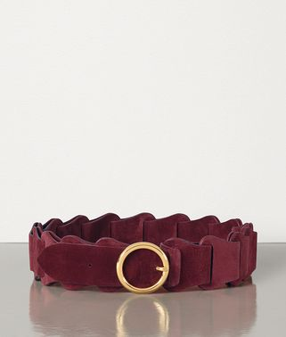 BELT IN CASHMERE SUEDE