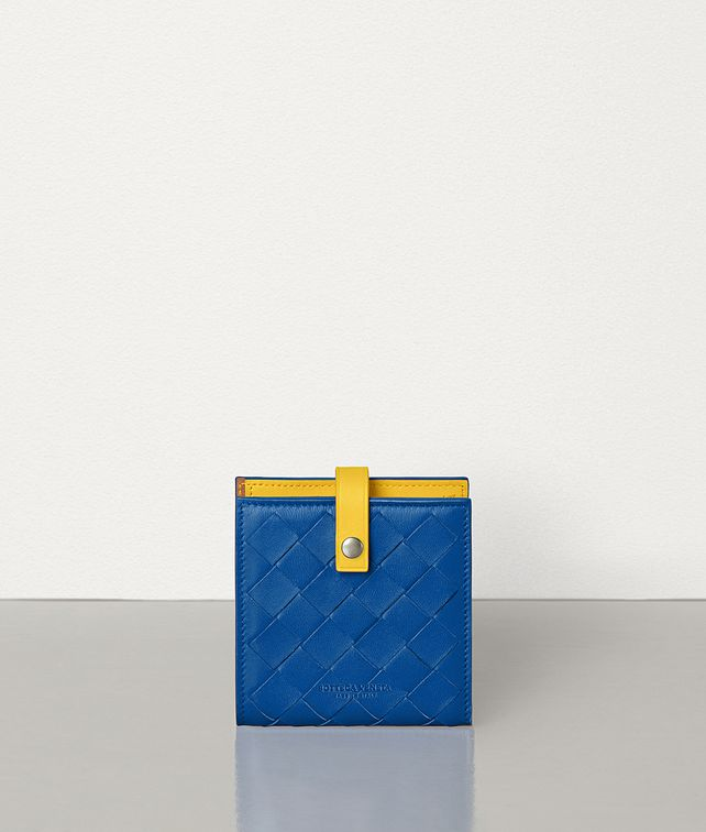 BOTTEGA VENETA MINI FRENCH WALLET IN NAPPA AND CALFSKIN Small Wallet [*** pickupInStoreShipping_info ***] fp