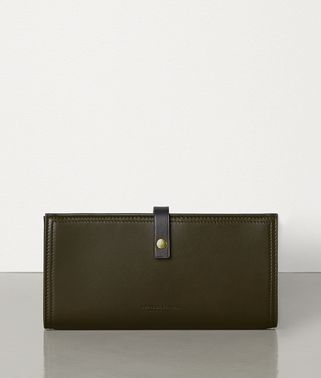 CONTINENTAL WALLET IN NAPPA  AND CALF