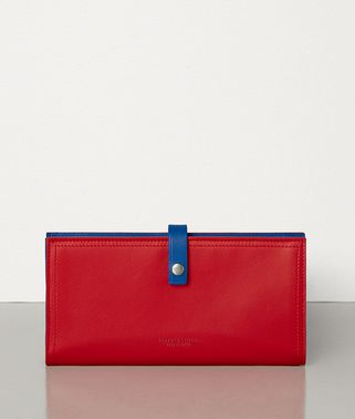 CONTINENTAL WALLET IN NAPPA AND CALFSKIN