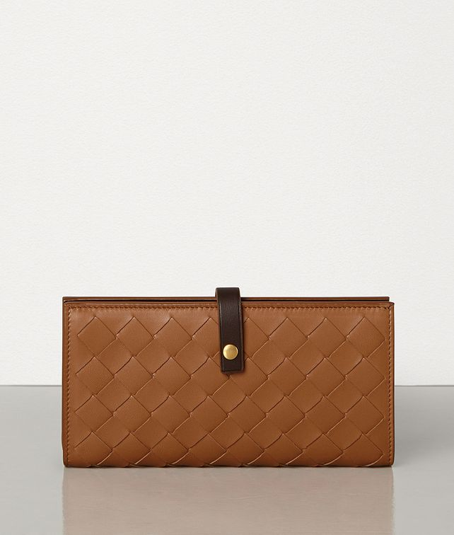 BOTTEGA VENETA CONTINENTAL WALLET IN NAPPA AND CALFSKIN Large Wallet [*** pickupInStoreShipping_info ***] fp