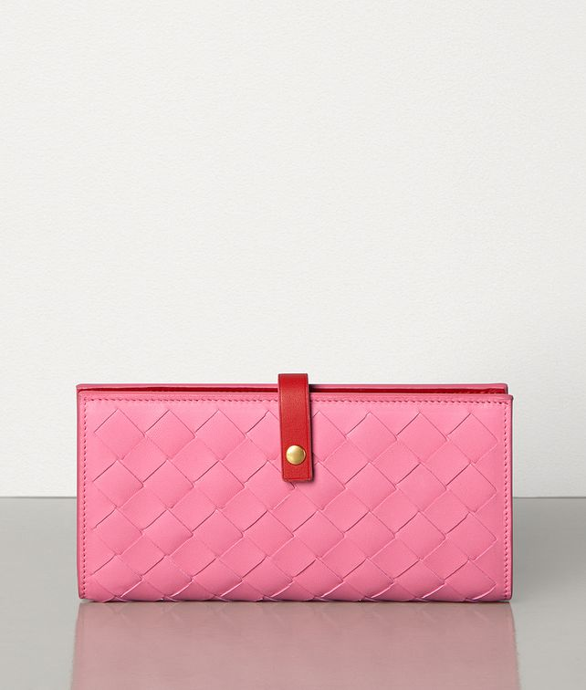 BOTTEGA VENETA CONTINENTAL WALLET IN NAPPA AND CALF Large Wallet Woman fp
