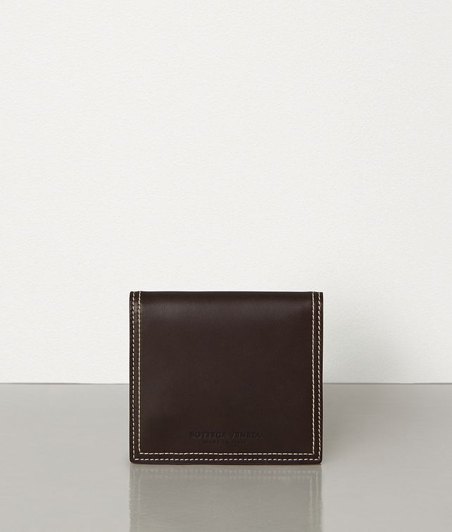 BOTTEGA VENETA MINI WALLET IN FRENCH CALFSKIN Small Wallet Woman fp