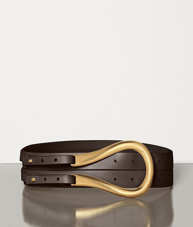 BOTTEGA VENETA BELT IN FRENCH CALF Belt Woman fp