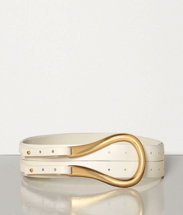 BOTTEGA VENETA BELT IN FRENCH CALF Belt [*** pickupInStoreShipping_info ***] fp