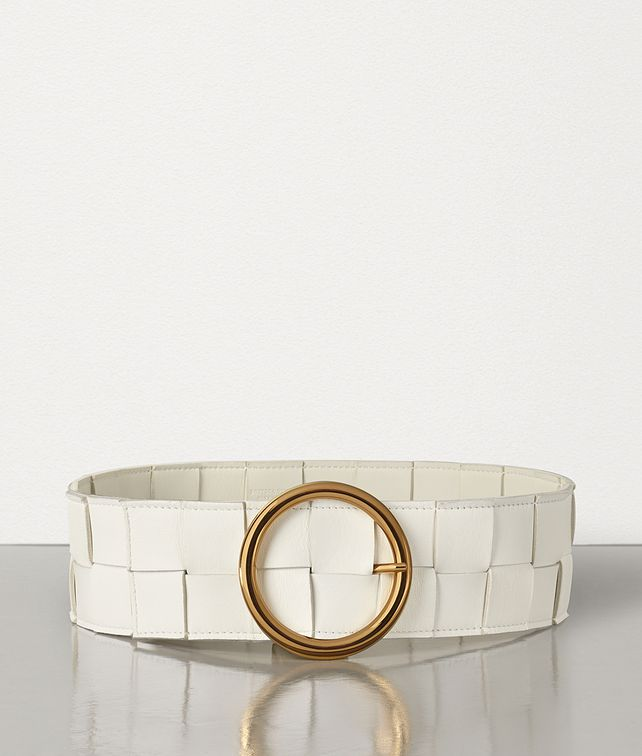 BOTTEGA VENETA BELT IN INTRECCIATO NAPPA Belt [*** pickupInStoreShipping_info ***] fp