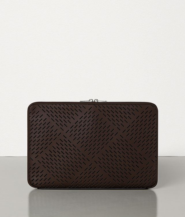 BOTTEGA VENETA MEDIUM URBANDOC IN PERFORATED MATT CALFSKIN Document case [*** pickupInStoreShippingNotGuaranteed_info ***] fp