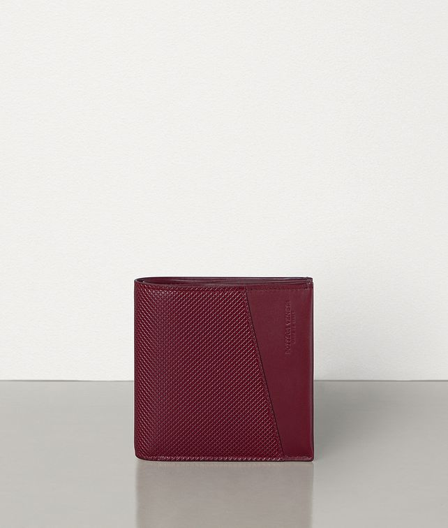 BOTTEGA VENETA BI-FOLD WALLET IN MARCOPOLO CALFSKIN Small Wallet Man fp