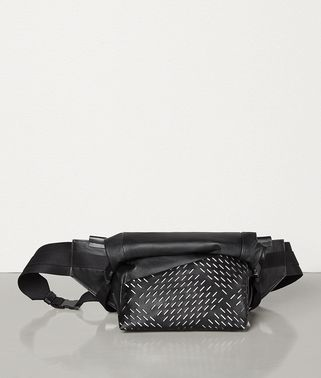 BELT BAG IN PERFORATED PAPER CALFSKIN