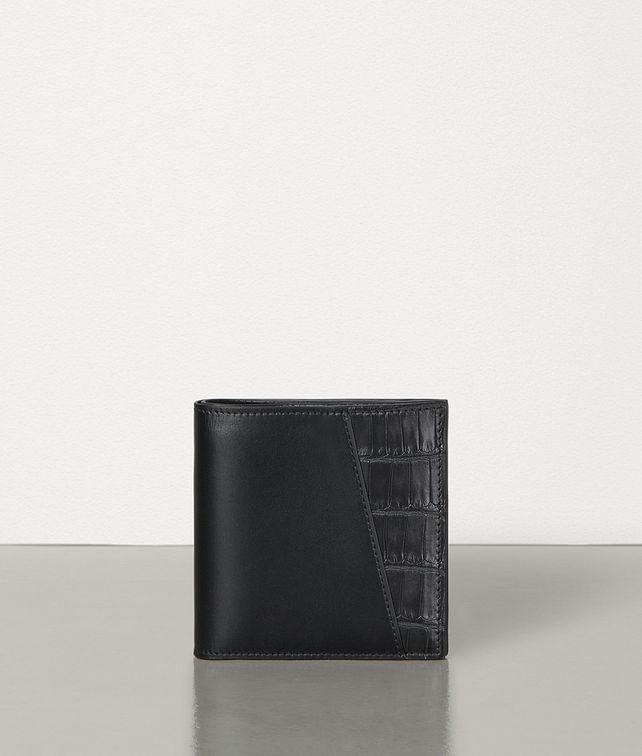 BOTTEGA VENETA BI-FOLD WALLET IN ALLIGATOR AND CALF LEATHER Small Wallet Man fp